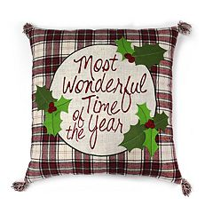 St. Nicholas Square® 'Wonderful Time of the Year' Throw Pillow