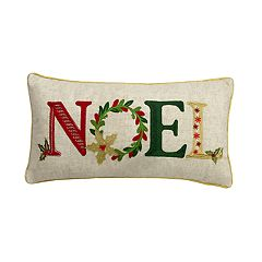 St. Nicholas Square® 'Noel' Throw Pillow