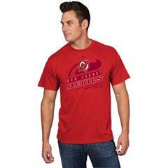 Men's Majestic New Jersey Devils Toe Drag Tee