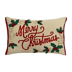 St. Nicholas Square® 'Merry Christmas' Throw Pillow
