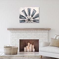 Windmill Canvas Wall Art