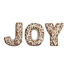 St. Nicholas Square® 'Joy' Throw Pillow 3-piece Set