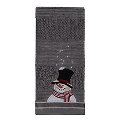 St. Nicholas Square® Christmas Traditions Snowman Tip Towel