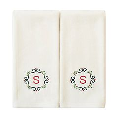 St. Nicholas Square® 2-pack Monogram Hand Towel