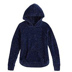 Girls 7-16 & Plus Size Mudd® Hooded Chenille Sweater