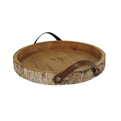 SONOMA Goods for Life™ Decorative Faux Birch Farmhouse Tray