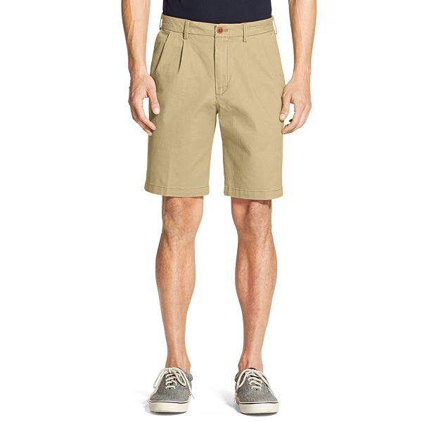 Men's IZOD Double Pleated Saltwater Chino Shorts