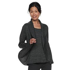 Women's Croft & Barrow® Layered Look Sweater