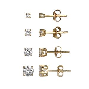 c18a79b3f Itsy Bitsy Sterling Silver Cubic Zirconia Stud Earring Set. Sale. $14.00.  Regular. $35.00. PRIMROSE Sterling Silver Ball Stud Earring Set. (7). Sale