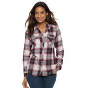 Women's Croft & Barrow® Classic Soft Shirt