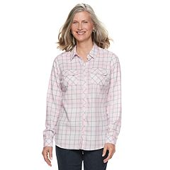 Women's Croft & Barrow® Classic Soft Shirt
