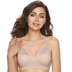 Women's Vanity Fair Breathable Luxe Seamless Wire Free Bra 72219
