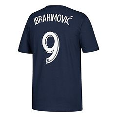 Men's adidas Los Angeles Galaxy Zlatan Ibrahimović Name & Number Tee