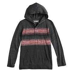 Boys 8-20 & Husky Urban Pipeline® Striped Hooded Tee