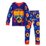 Toddler Boy Cuddl Duds Jurassic World Thermal Top & Bottoms Set