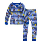 Toddler Boy Paw Patrol Chase, Marshall & Rubble Top & Bottoms Base Layer Set by Cuddl Duds
