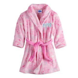 Toddler Girl Peppa Pig Robe
