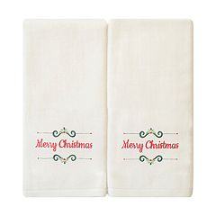 St. Nicholas Square® 2-pack Sentiments Hand Towel