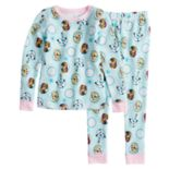Disney's Frozen Anna, Elsa & Olaf Thermal Top & Bottoms Set by Cuddl Duds