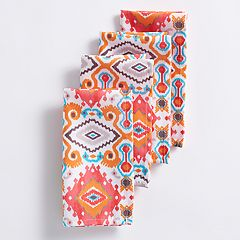 Mainstreet Pattern Napkin 4-pack