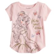"Disney's Beauty And The Beast Belle ""Follow Your Dreams"" Graphic Tee by Jumping Beans®"