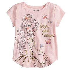 Disney's Beauty And The Beast Belle 'Follow Your Dreams' Graphic Tee by Jumping Beans®