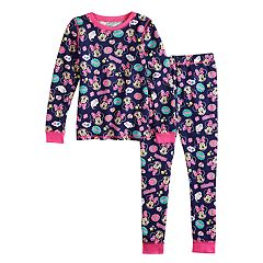 Disney's Minnie Mouse Toddler Girl Top & Bottoms Set by Cuddl Duds