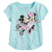 Disney's Mickey & Minnie Mouse Graphic Tee by Jumping Beans®
