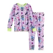 Disney's Vampirina Toddler Girl Top & Bottoms Baselayer Set by Cuddl Duds