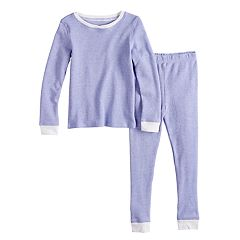 Toddler Girl Cuddl Duds Thermal Top & Bottoms Baselayer Set