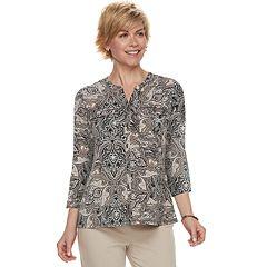 Women's Croft & Barrow® Print Shirt