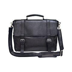 Natico Oxford Napa Leather Briefcase