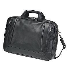 Natico Amherst Executive Leather Computer Briefcase