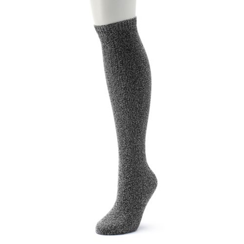Women's Cuddl Duds Twisted Texture Cable Over-the-Knee Socks