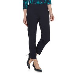 Women's Croft & Barrow® Polished Pull-On Ankle Pants