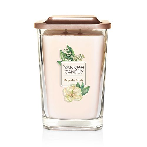 Yankee Candle Elevation Collection Magnolia Lily Large Square