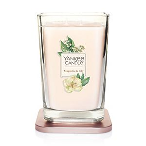 Yankee Candle Elevation Collection Magnolia & Lily Large Square Candle