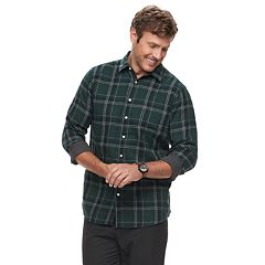 Big & Tall SONOMA Goods for Life™ Modern-Fit Supersoft Double-Weave Button-Down Shirt