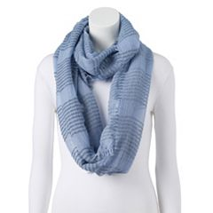 Women's LC Lauren Conrad Striped Boucle Infinity Scarf
