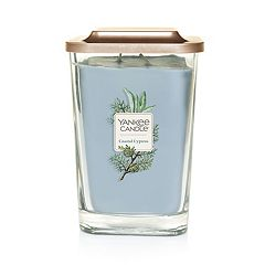 Yankee Candle Elevation Collection Coastal Cypress Large Square Candle