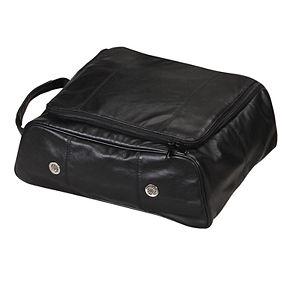 Natico Ultimate Napa Leather Golf Shoe Bag