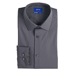 Men's Apt. 9® Slim-Fit HEIQ Premium Flex No-Iron Dress Shirt