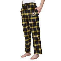 Men's Pittsburgh Penguins Homestretch Flannel Lounge Pants