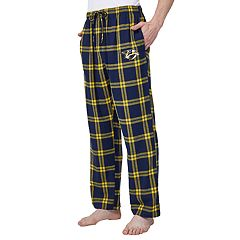 Men's Nashville Predators Homestretch Flannel Lounge Pants