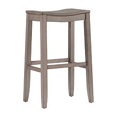 Hillsdale Furniture Fiddler Backless Saddle Seat Counter Stool