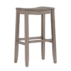 Hillsdale Furniture Fiddler Backless Saddle Seat Bar Stool