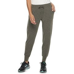 Petite Tek Gear® French Terry Jogger Sweatpants