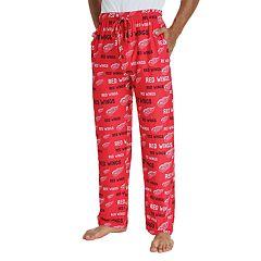 Men's Detroit Red Wings Midfield Lounge Pants