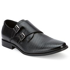 Xray Barbaro Men's Monk Strap Dress Shoes
