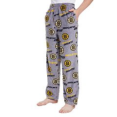 Men's Boston Bruins Achieve Fleece Pants